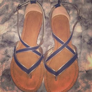 Merona strappy sandals